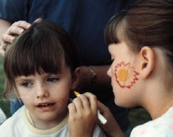Children Face Painting
