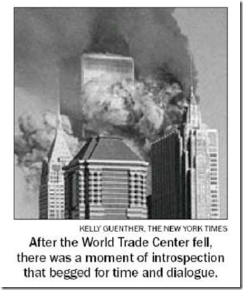 Christian behaviour and 9-11 (pic)