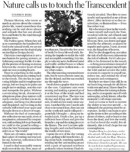 Contemplation EdmJournal Aug 7, 2010
