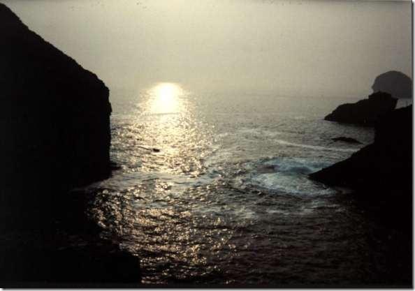 Cornwall coast at dusk(web)