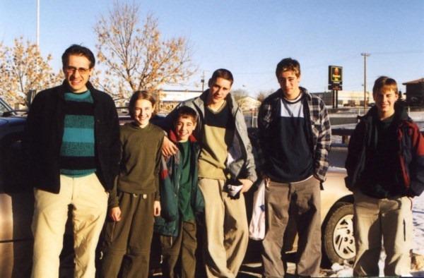 Me and kids 2000
