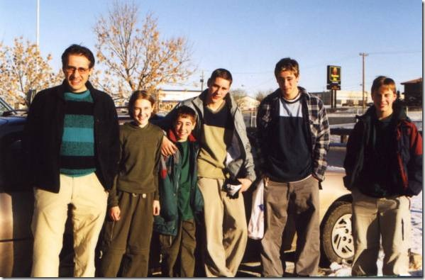 Steve and kids(Blog)