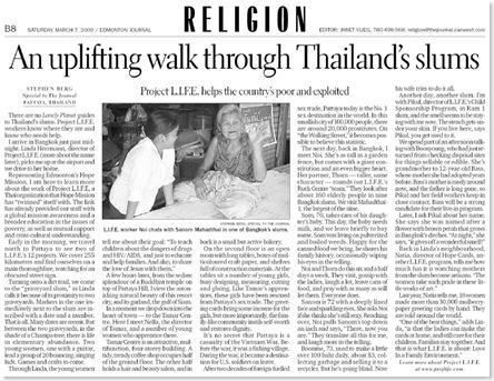 A walk through Thailand's slums (Ed Journal feature) March 7, 2009b