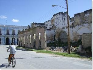 Cardenas street sugar cane factory