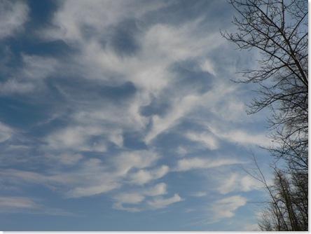 Clouds at Crimson Lake640