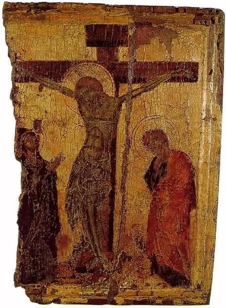 Othodox Icon of Christ's crucifixion