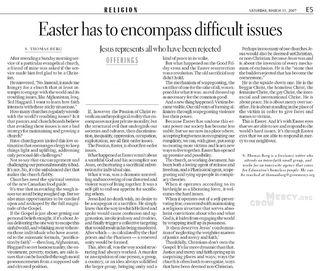 Easter Offering 2007 EdJournal