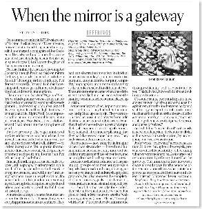 Mirror is a Gate (EdJournal 02'08)