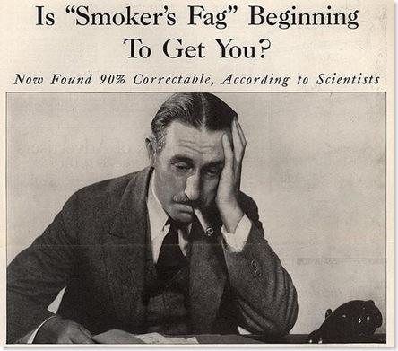 smoker's fag