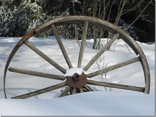 wagonwheelinsnow